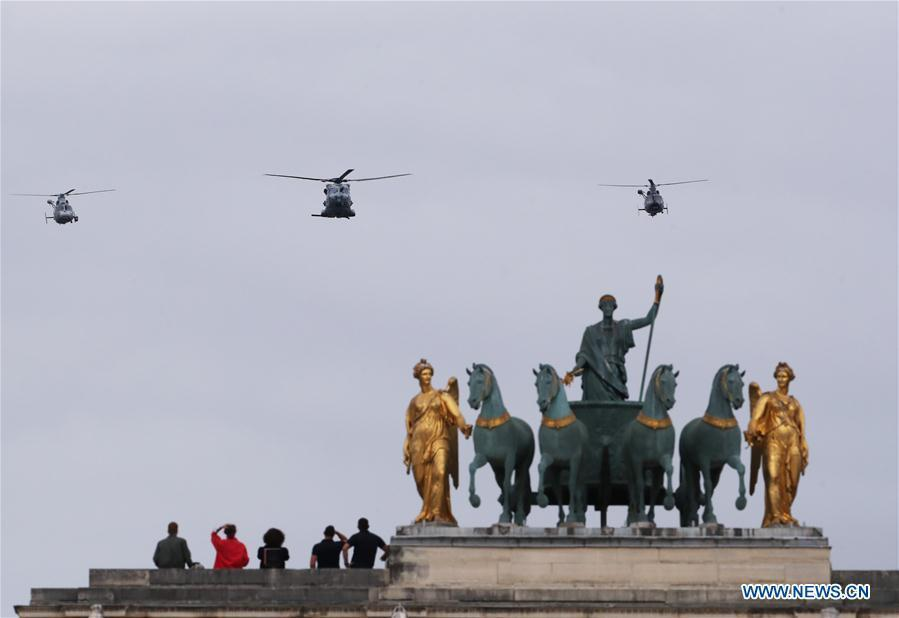 France celebrates Bastille Day with little fanfare amid pandemic