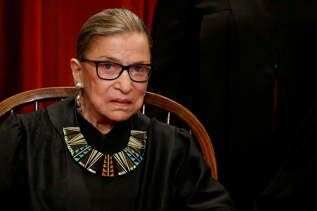US Supreme Court justice Ginsburg treated in hospital for possible infection