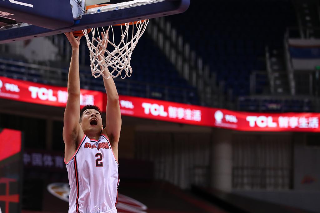 Zhejiang snaps Fujian's five-game winning streak