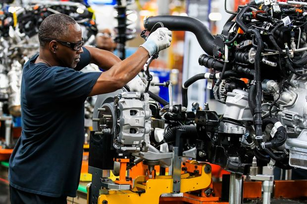 US industrial output jumps 5.4% in June, -42.6% Q2: Fed