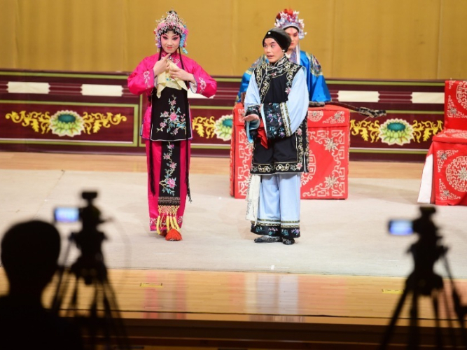 Peking Opera staged online an option for summer fun
