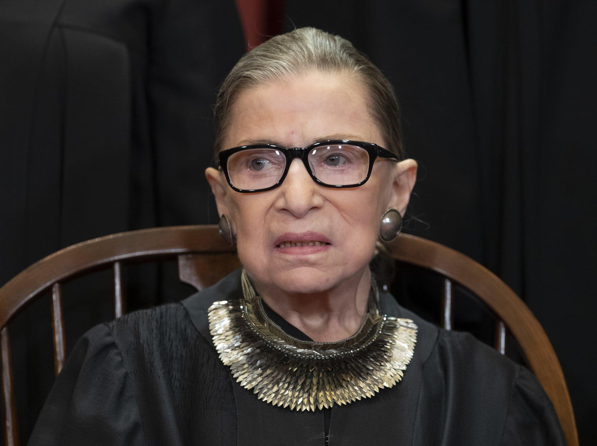 US Supreme Court justice Ginsburg leaves hospital