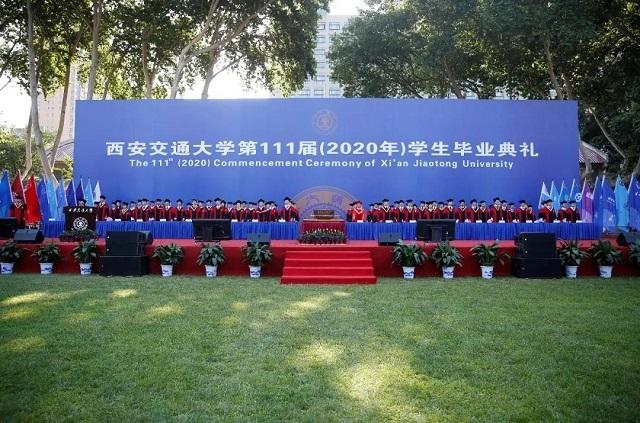 Graduation Season of Xi'an Jiaotong University