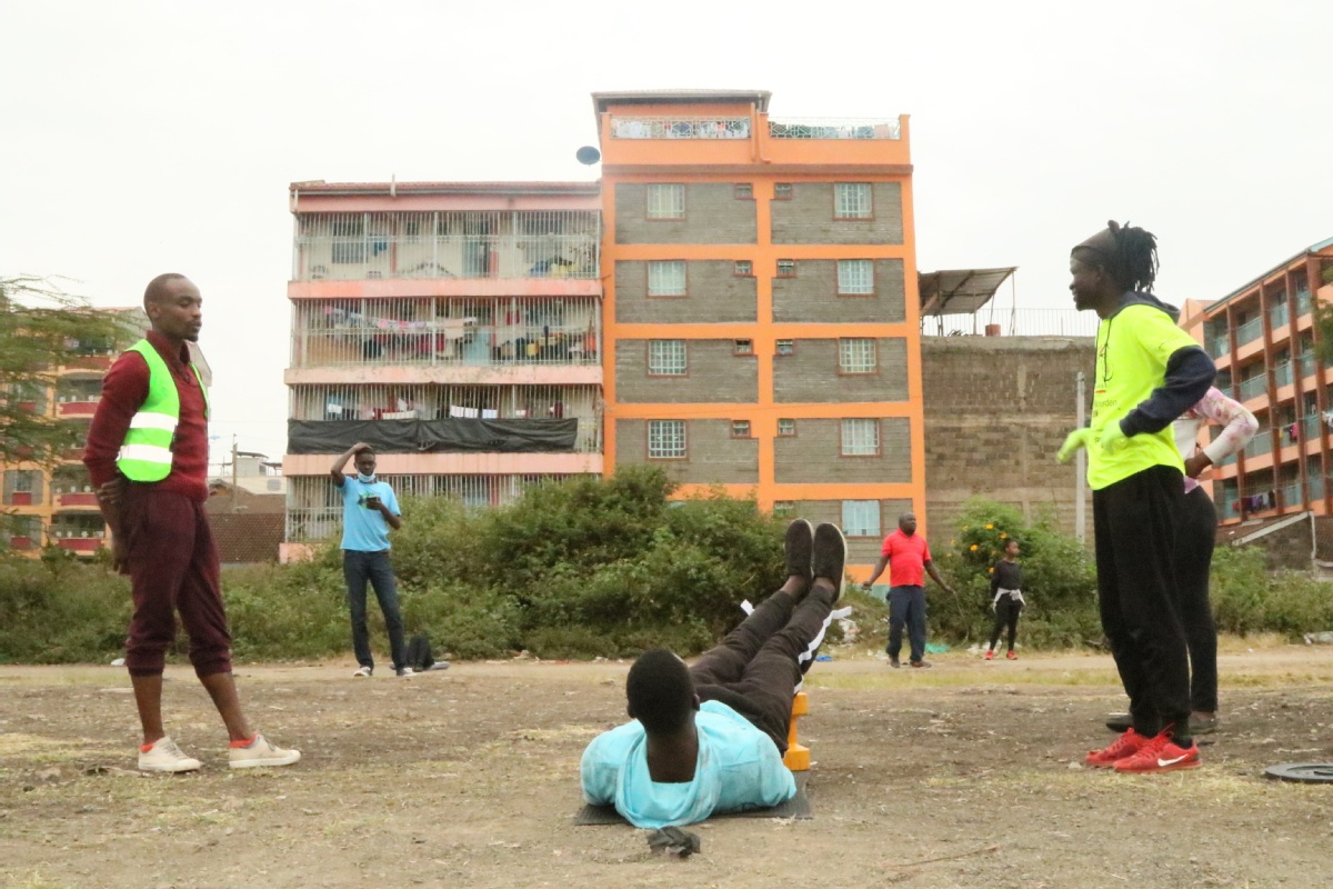 Fitness enthusiasts are working around pandemic to work out