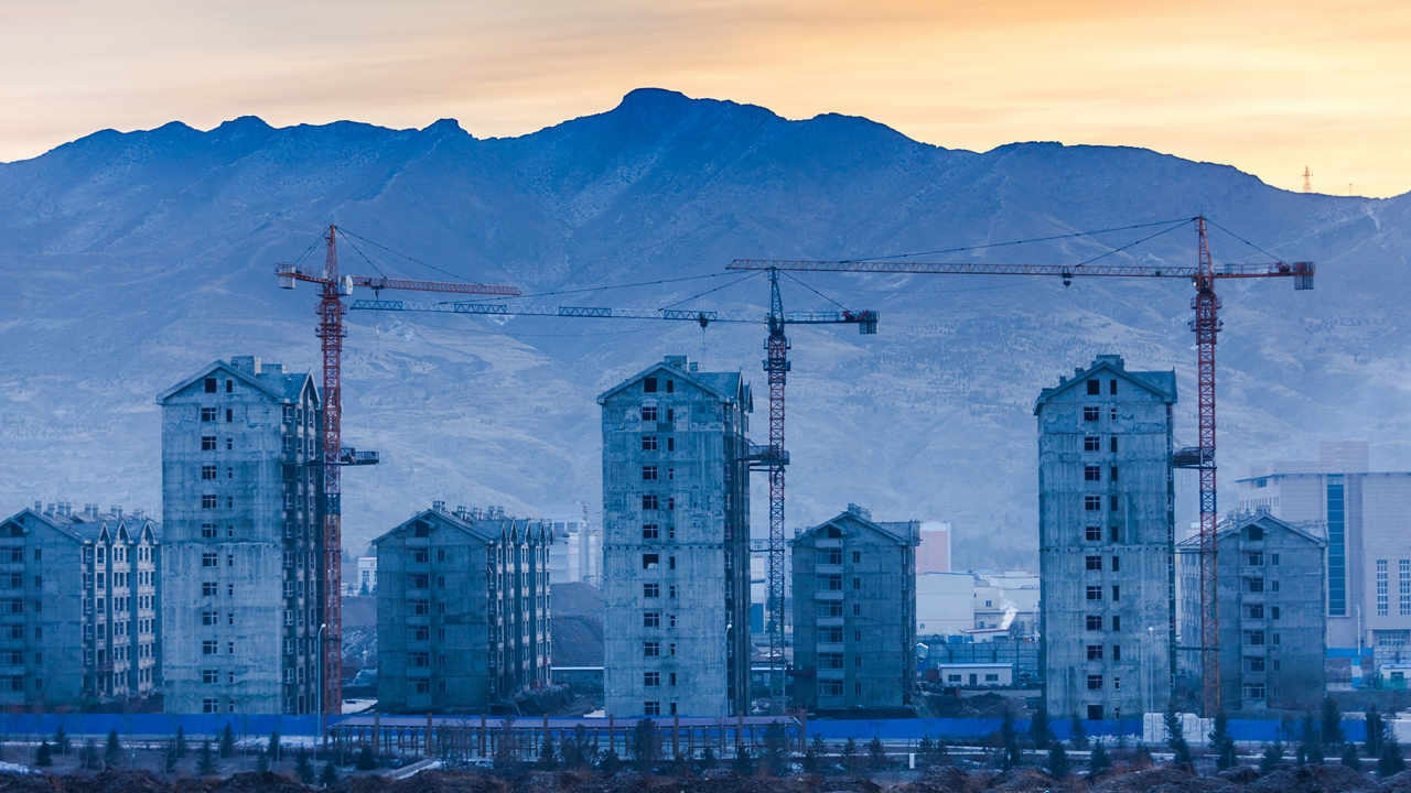 China's property investment up 1.9 pct in H1