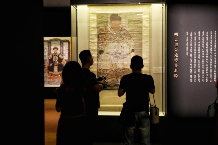 Exhibition of Ming, Qing portrait paintings opens in Beijing