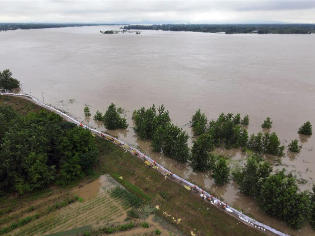 Over 20m Chinese people affected by floods in July