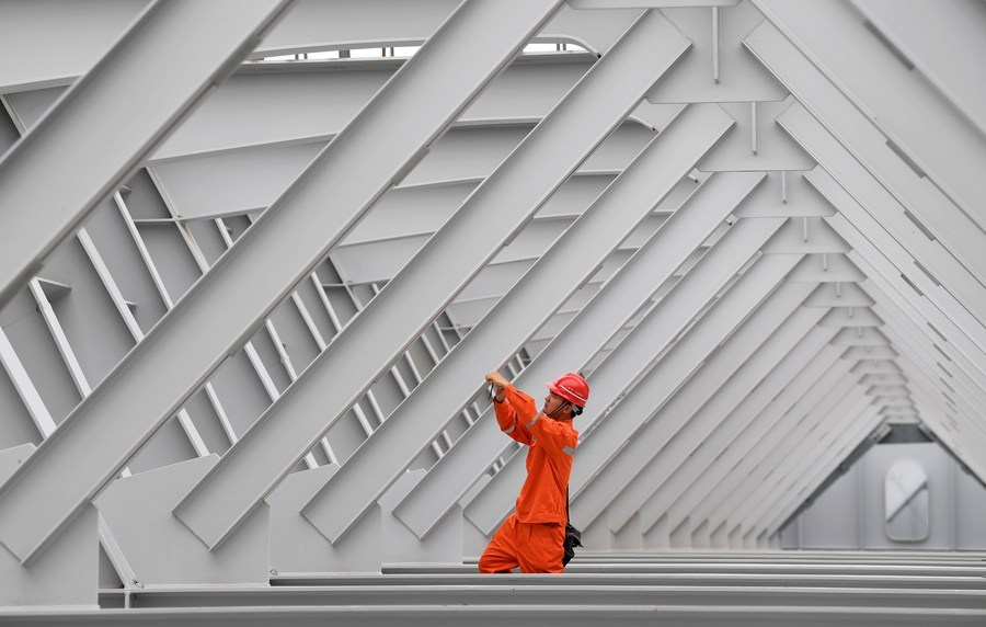 China's fixed-asset investment down 3.1% in H1