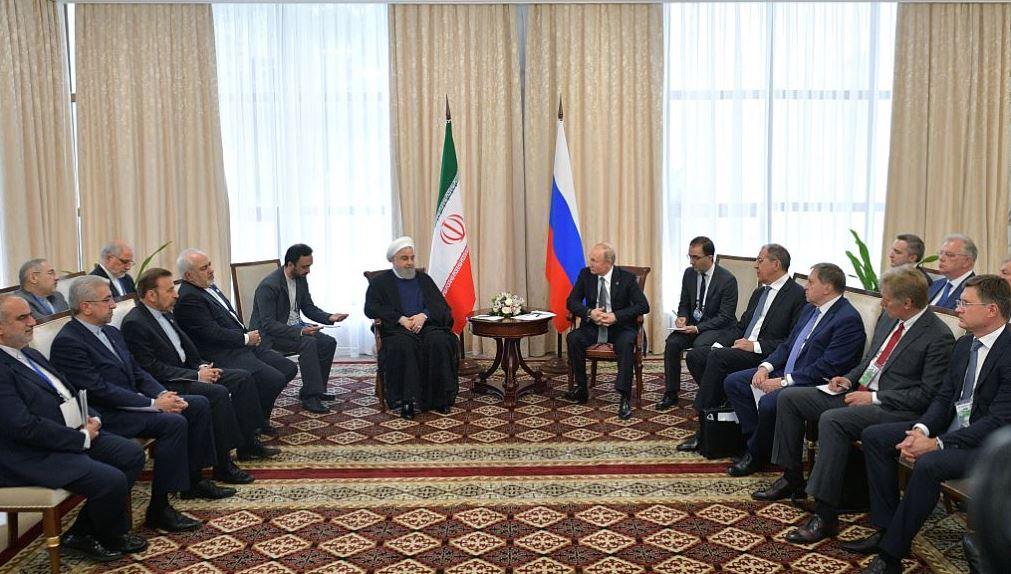Putin, Rouhani affirm commitment to JCPOA