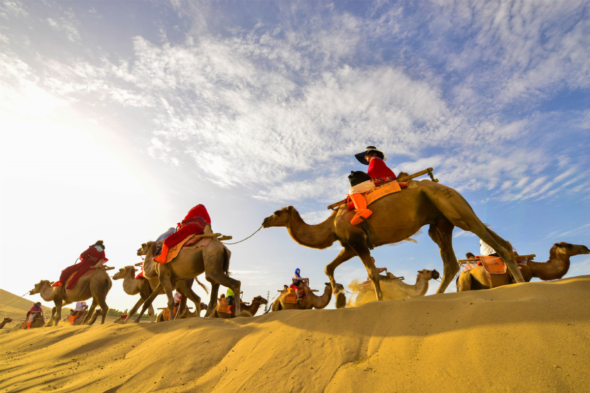 Tourism increases at Silk Road sites
