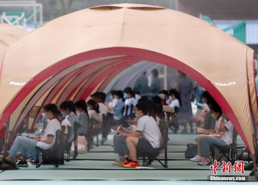 Beijing starts high school entrance exam