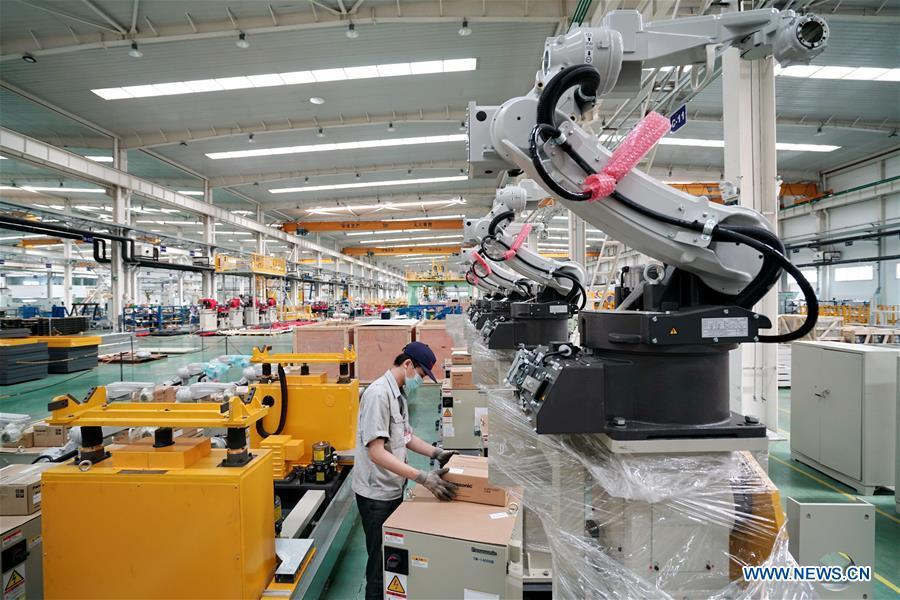 Robotics industry formed in Tangshan Hi-tech Industrial Development Zone, N China