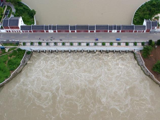 Emergency response upgraded over China's Huaihe River floods
