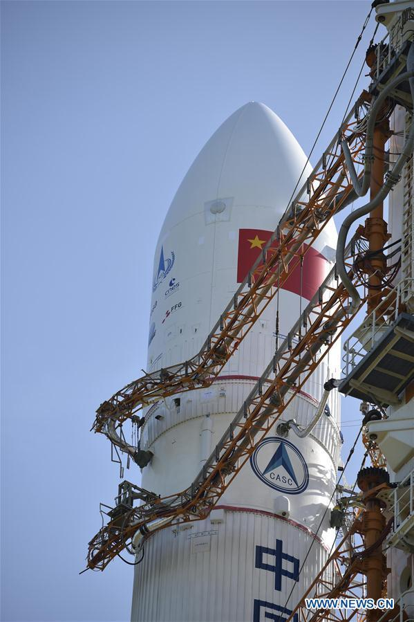 China prepares to launch Long March-5 rocket for Mars mission
