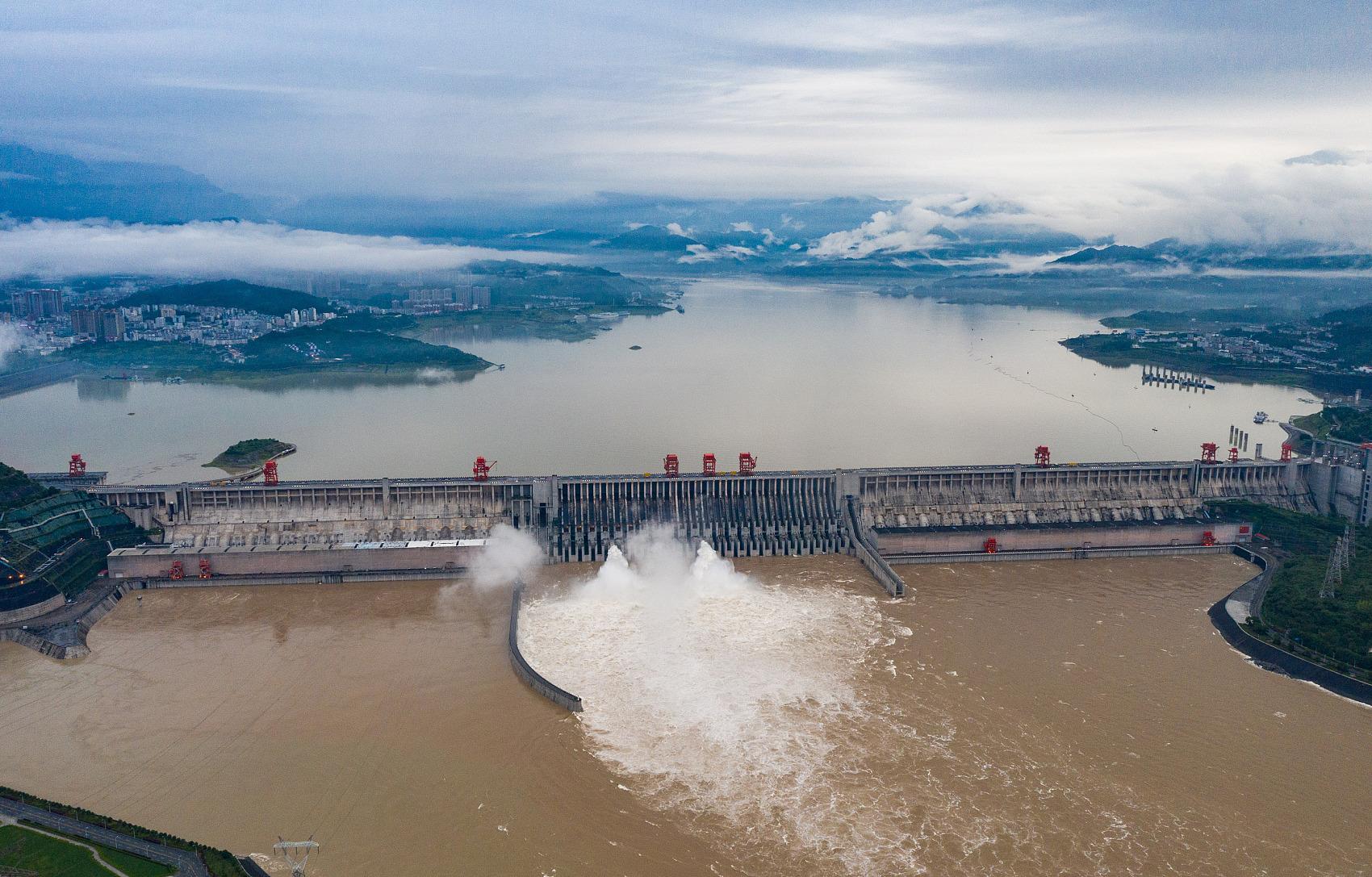 Massive flood arrives at China's Three Gorges reservoir