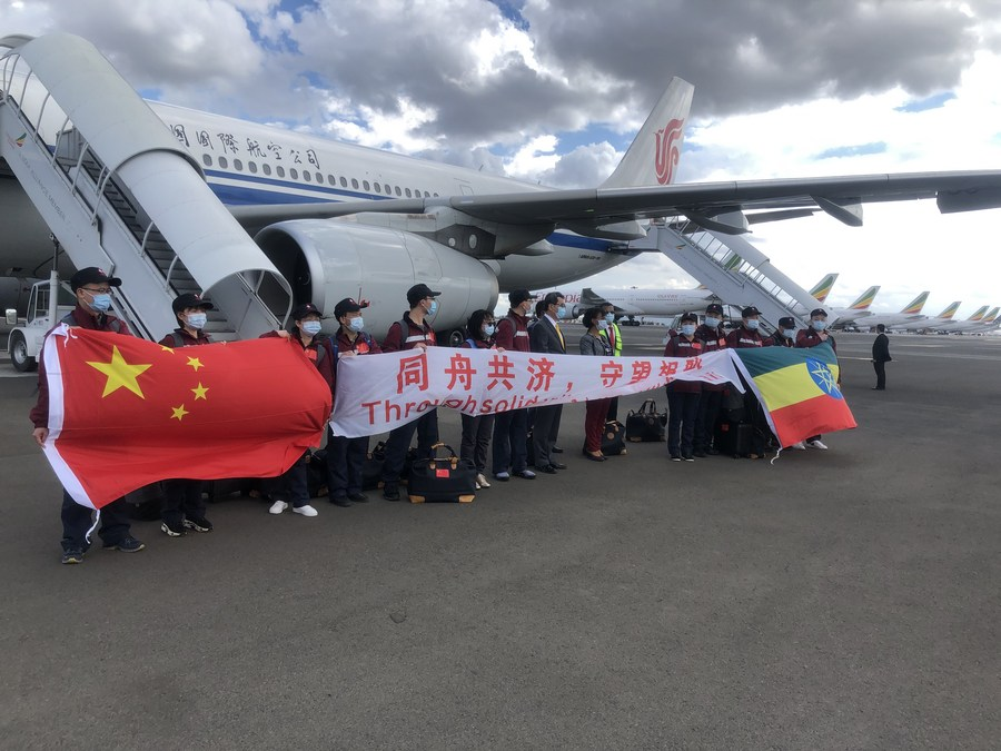 China-Africa brotherhood bolstered in joint anti-pandemic efforts