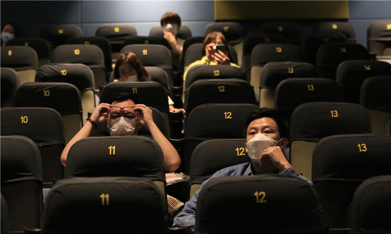 Chinese cinemas reopen after months-long closure