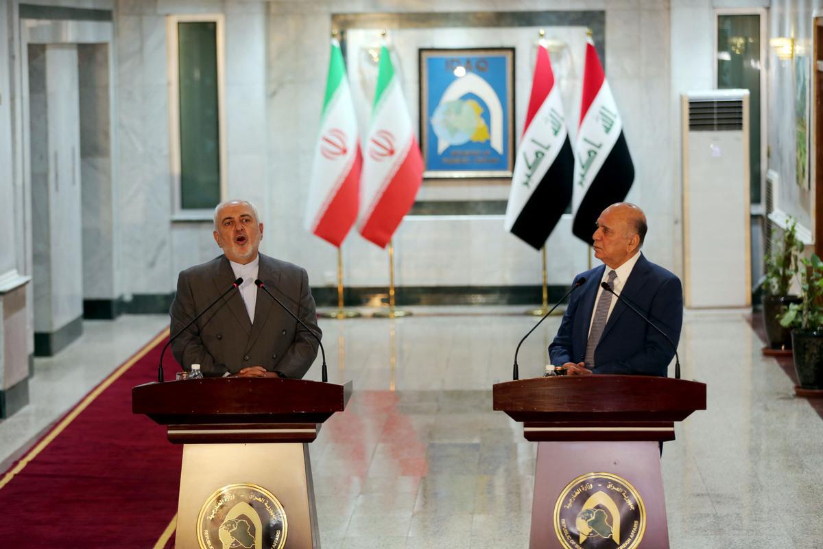 Iranian FM visits Iraq to discuss bilateral ties, regional stability