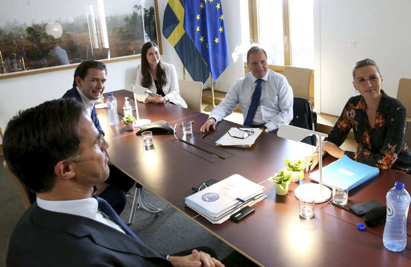 EU summit leader appeals for unity on virus fund