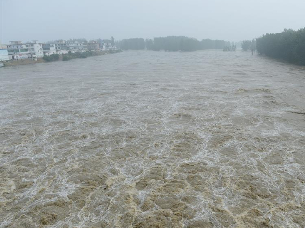 Mengwa Flood Detention Area in Anhui put into use