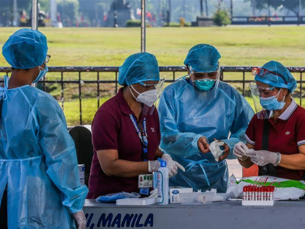 Philippines records over 70,000 COVID-19 cases with 1,951 new infections, aims to test 10 pct of population