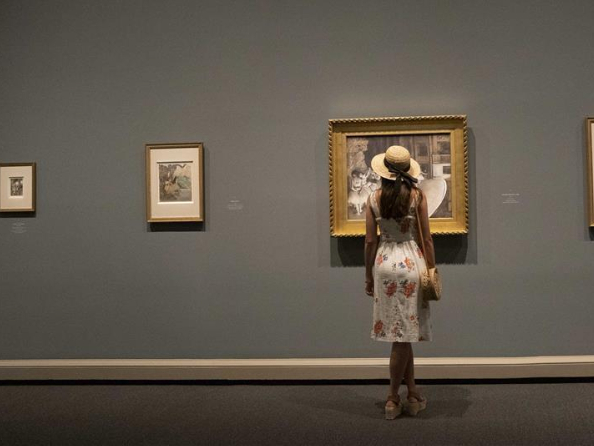 Parts of National Gallery of Art reopen to public in Washington, DC