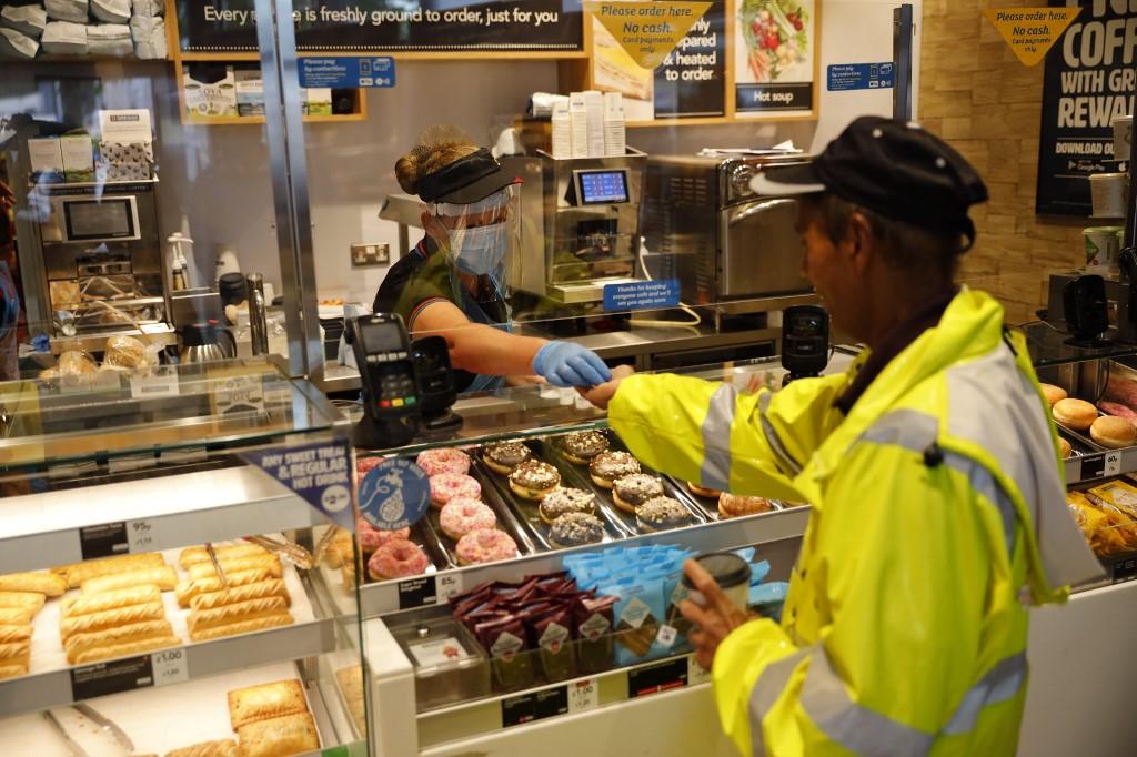 UK borrowing hits record £128bn during lockdown: data