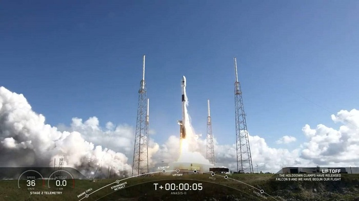 South Korea's first military satellite launched