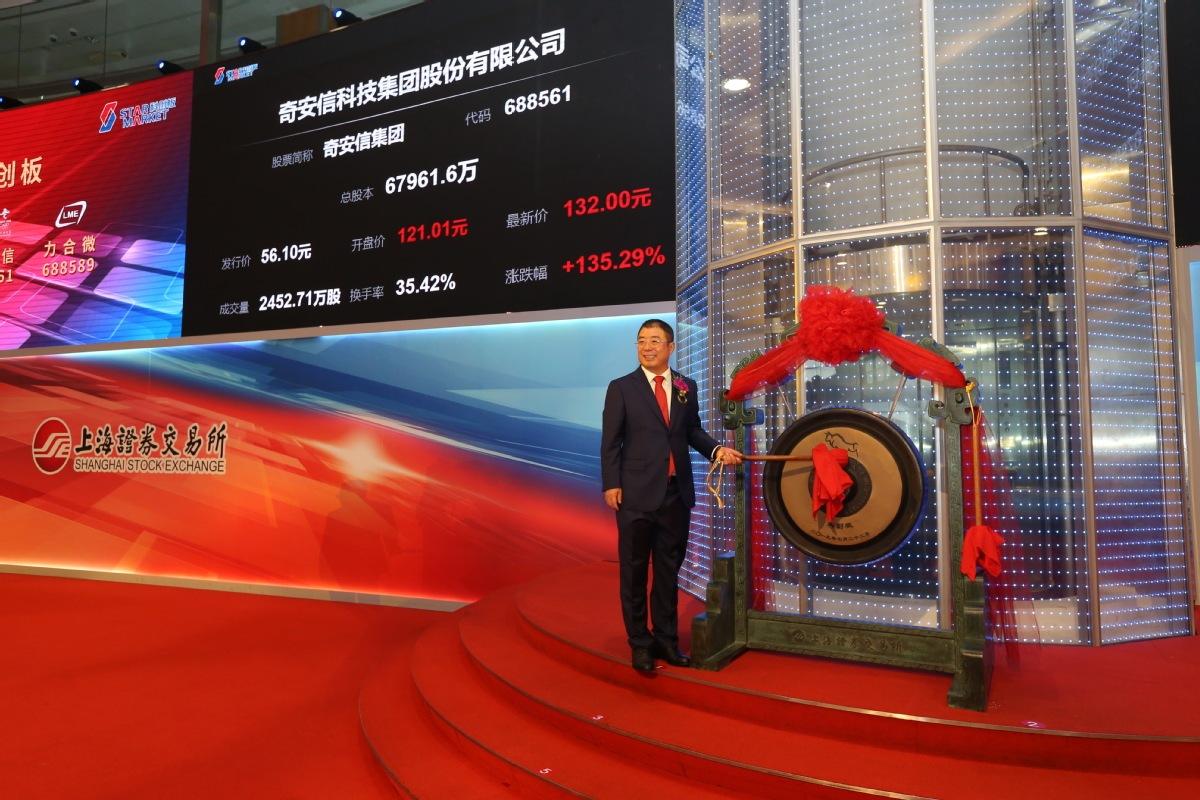 Qi An Xin makes STAR Market debut
