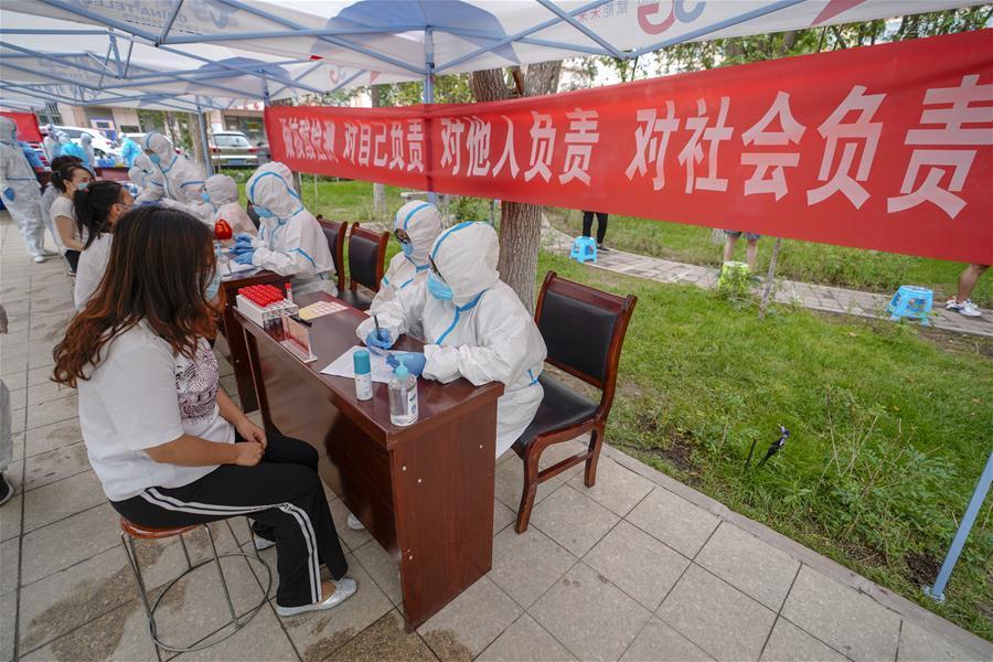 China's Urumqi conducts citywide COVID-19 tests