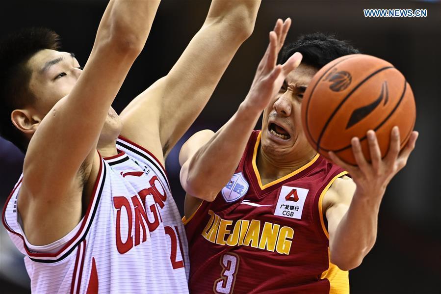 Qingdao Eagles vs. Zhejiang Golden Bulls at Chinese Basketball Association