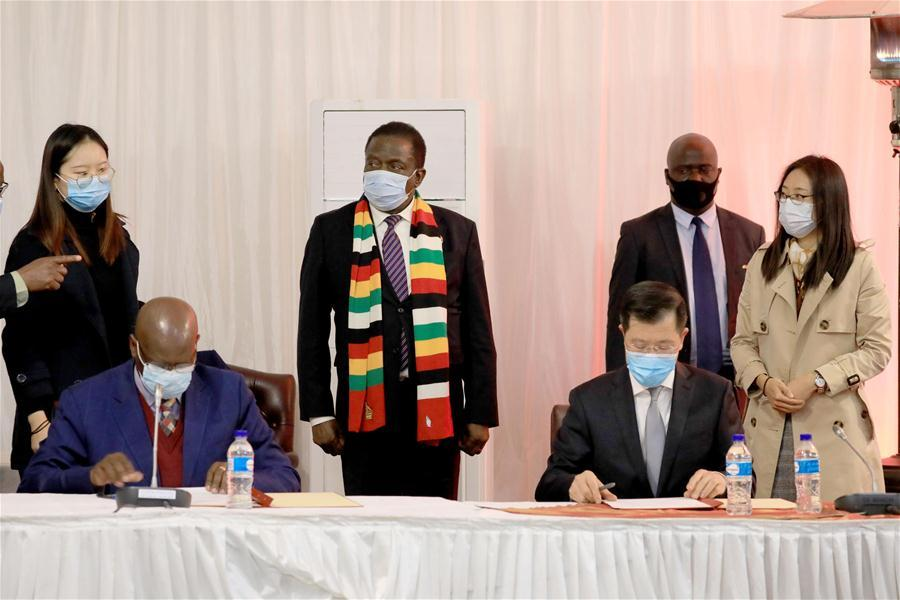 China donates medical supplies to Zimbabwe for fighting COVID-19