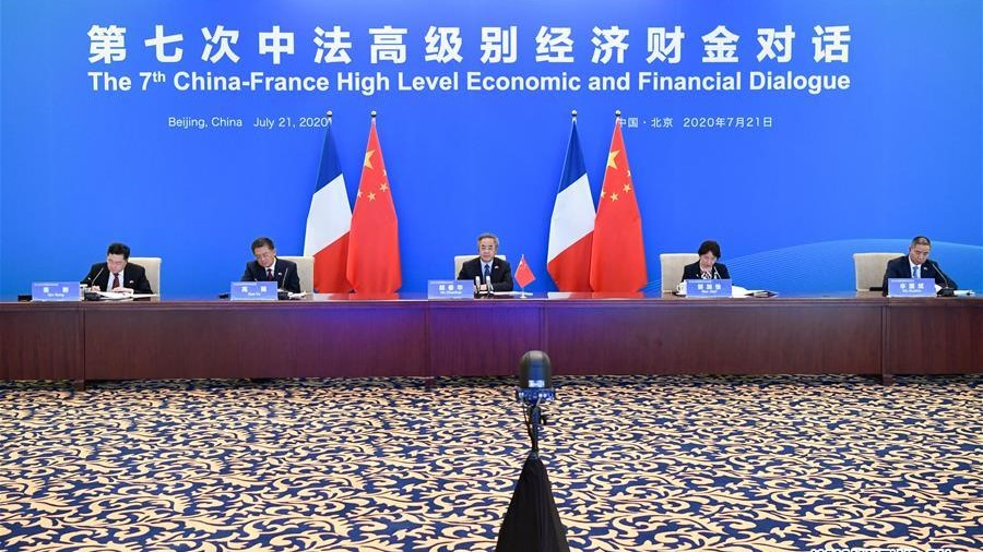 China, France vow to strengthen cooperation
