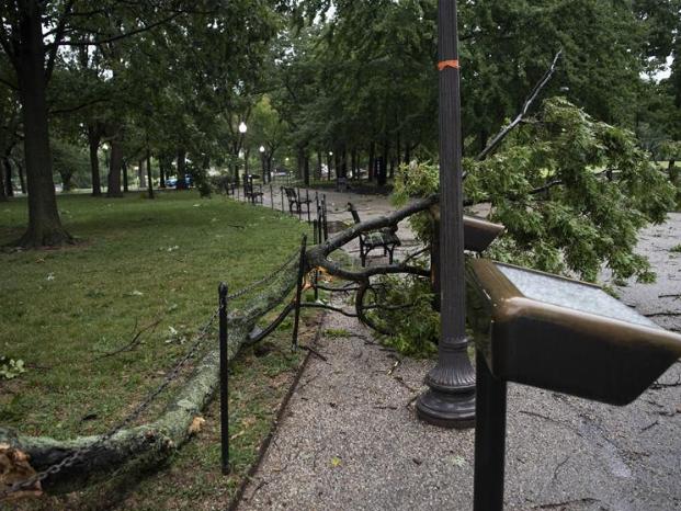 Torrential rain hits Washington D.C. region