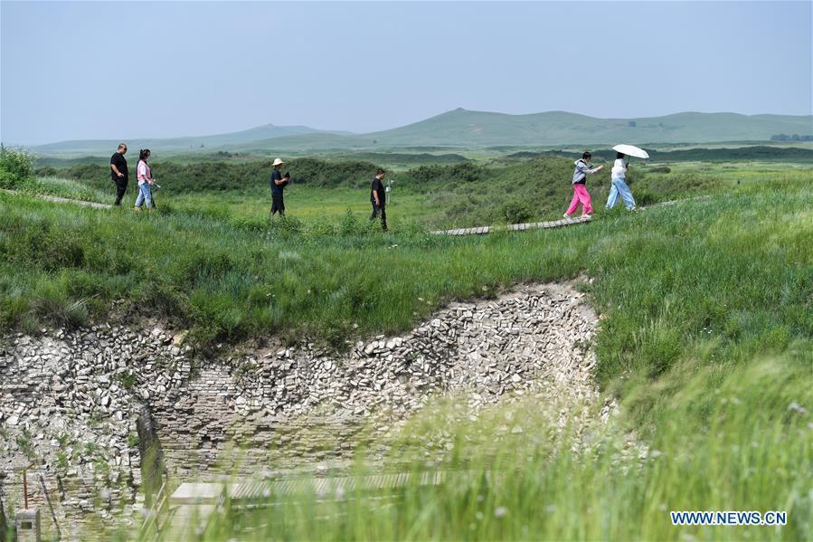 Relic site of Xanadu in Inner Mongolia