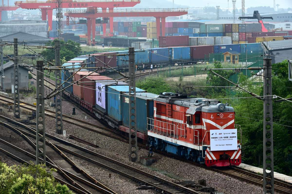 China-EU fast-track rail freight cooperation
