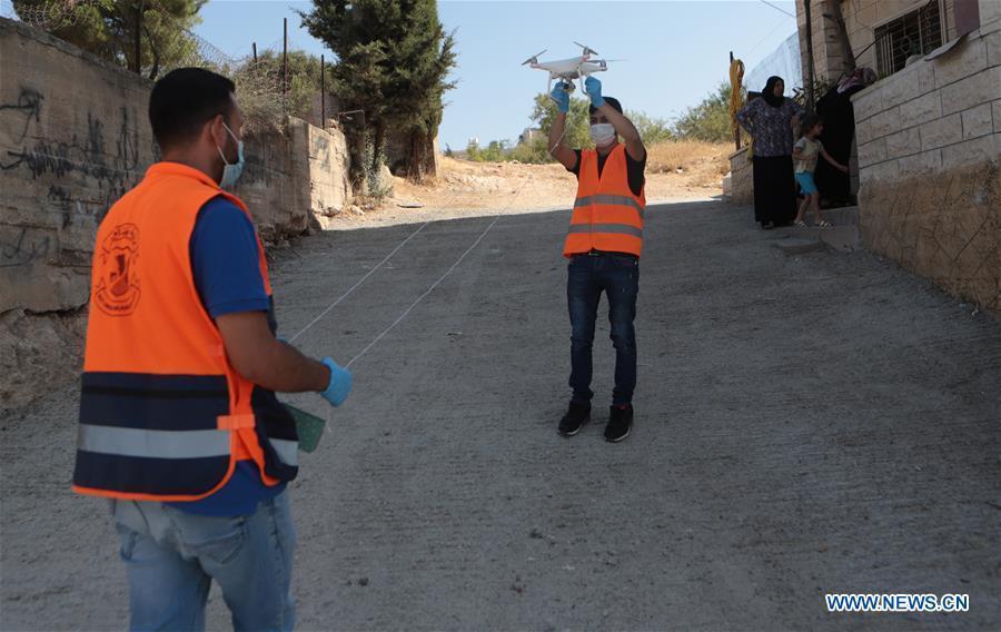 Palestine records 356 new COVID-19 cases, 11,280 in total