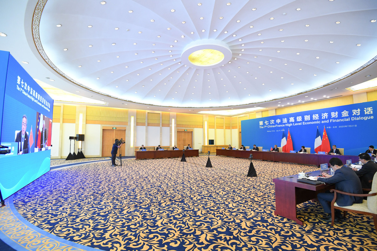 China, France find 42 points of agreement in dialogue