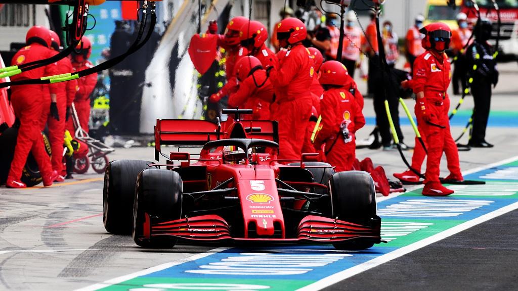 Ferrari restructure F1 technical department