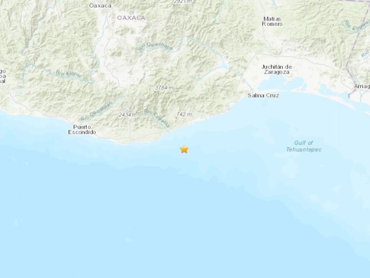 5.5-magnitude quake hits near coast of Oaxaca, Mexico: USGS