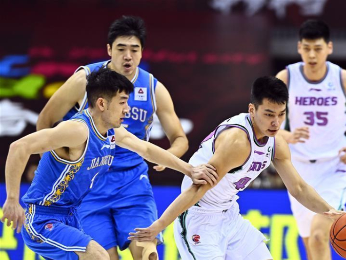 Shandong beat Jiangsu 90-85 to end two-game losing streak in CBA