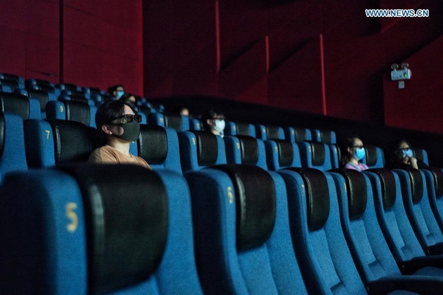 Beijing reopens cinemas after months-long closure