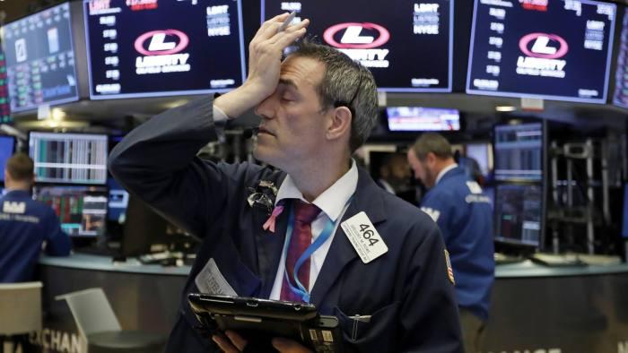 US stocks open lower as tech shares decline