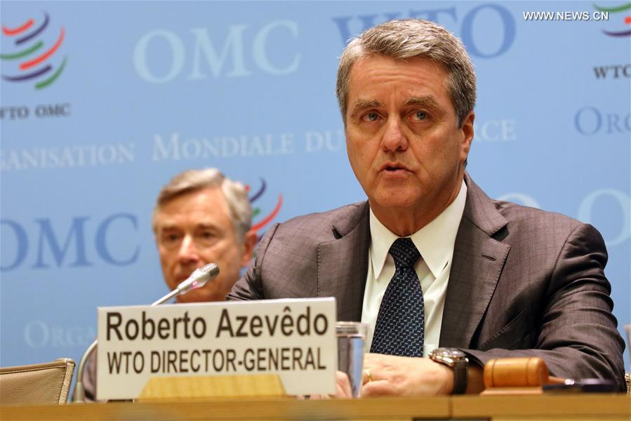 Outgoing WTO head says 'much remains to be done'