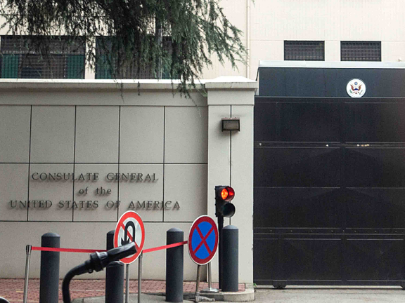China: US diplomats in Chengdu engage in inappropriate activities
