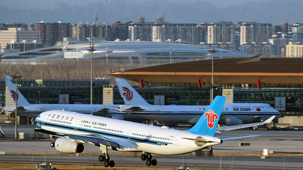 China's civil aviation recovers as daily flights increase
