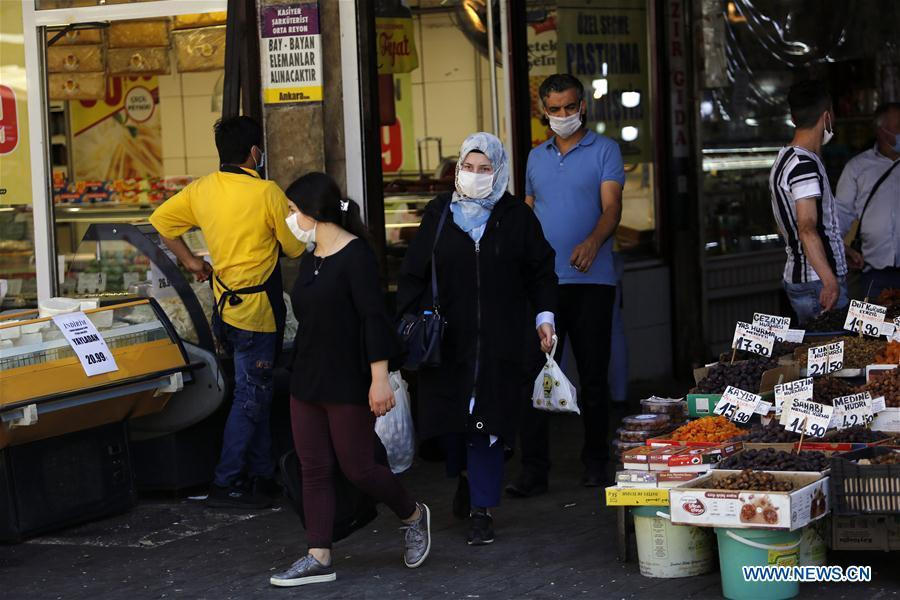 Turkey reports 921 new COVID-19 cases, 225,173 in total