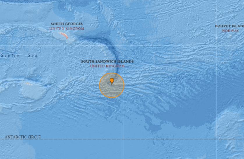 6.3-magnitude quake hits South Sandwich Islands region -- USGS