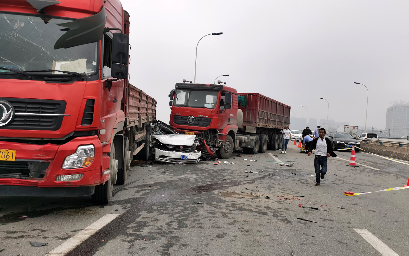 China to establish coordinated rescue mechanisms for road traffic accidents