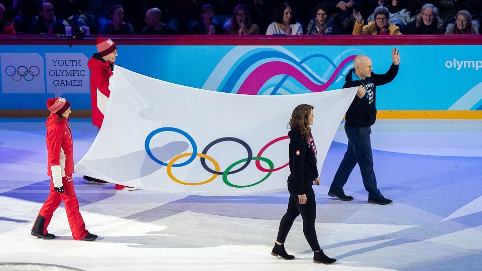 Coubertin Olympic flag design auctioned for 185,000 euros